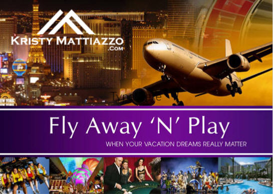 GET A TRIP FOR 2 TO LAS VEGAS!